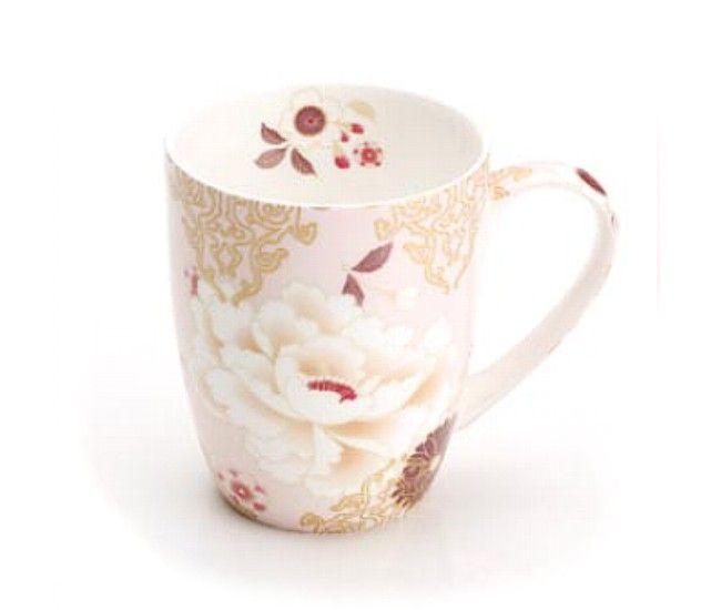 The beauty of the the Orient comes to the table with the Maxwell & Williams Kimono collection #maxwellandwilliams #kimono #mug #bonechina #coffee #tea #serveware