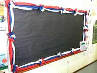 Finished product of DIY tissue paper borders