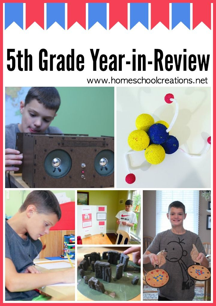 5th Grade Year in Review – Homeschool Curriculum Choices