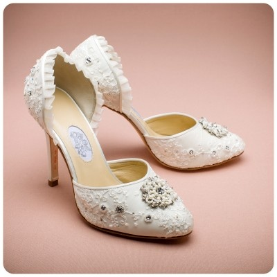 Diane Hassall Enchanted Wedding Shoes