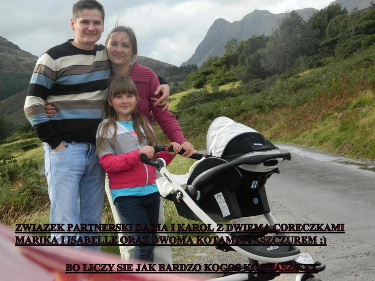 #Poland Civil partnerships are not a threat to us! Daria & Karol and our two daughters.