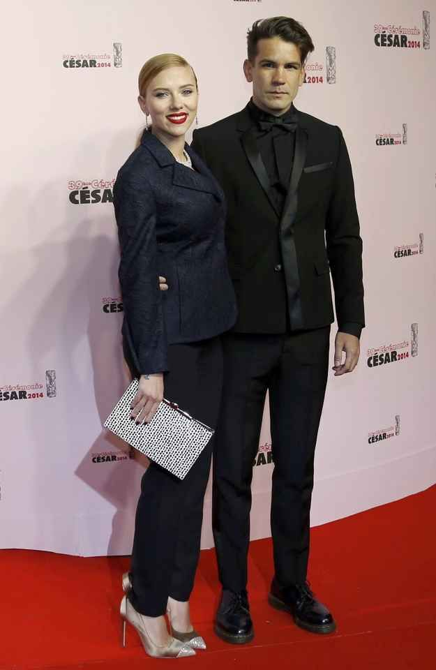 On Monday, news broke that Scarlett Johansson is pregnant with her first child , with fiancé Romain Dauriac.