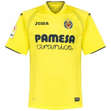 £19.99 Villarreal Home Shirt 2016 2017