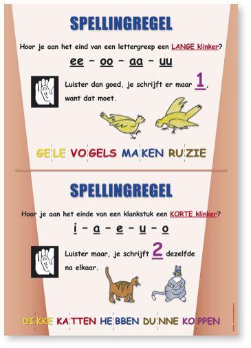 poster spellingregels - Google zoeken