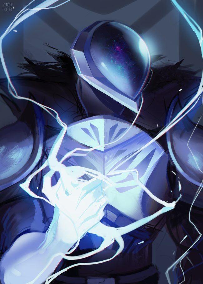 Striker Destiny Warlock Space Anime Destiny Game