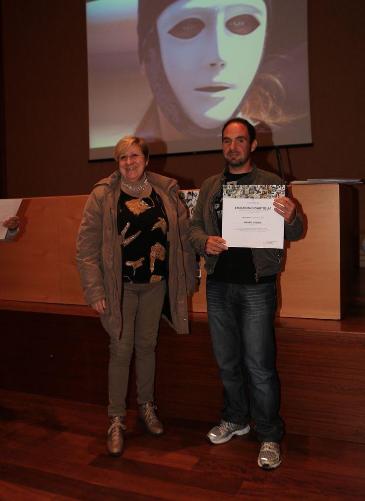 premiazioni concorso fotografico Emozioni di #Sartiglia - 3° premio categoria colore per Mauro Deidda