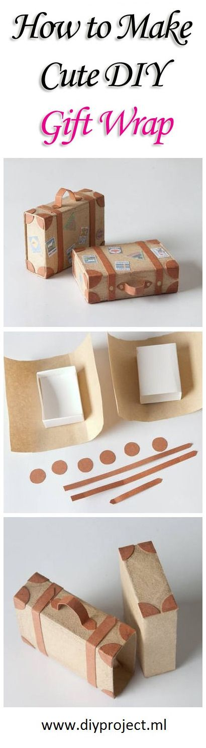 How to Make Cute DIY Gift Wrap