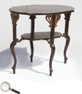 MD YAKOOB_____ & SONS, CABINET MAKERS. & FURNISHERS, A Teakwood Centre Table With an Edwardian Pattern, Bareilly, Uttar Pradesh, India