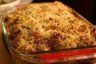 Rick Bayless cauliflower gratin.