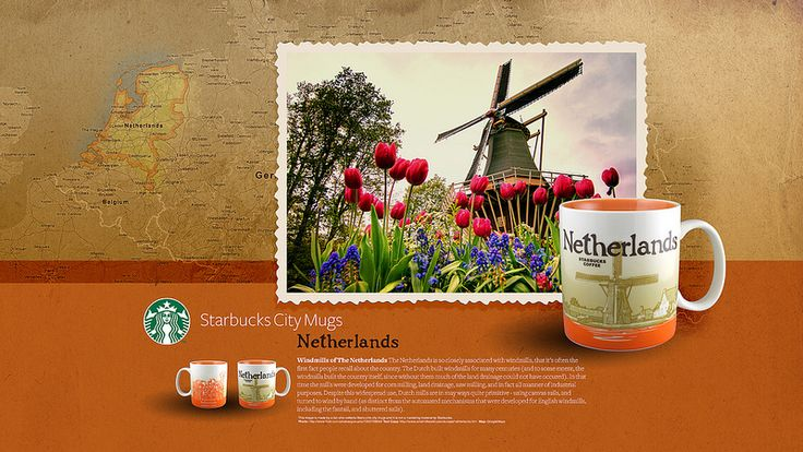 GOT IT!!! Starbucks City Mug Netherlands Desktop Wallpaper