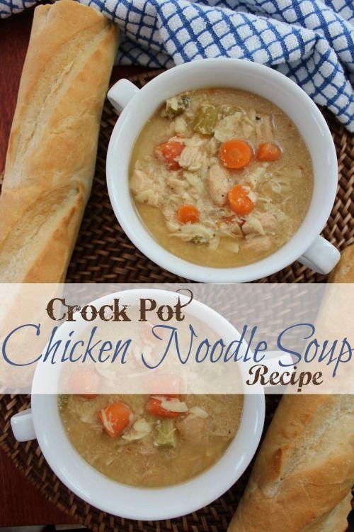 Easy chicken soup recipes crock pot