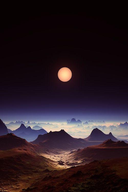 ~~Enigma | mystical full moon landscape by aleksandra ...