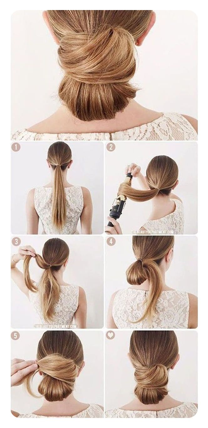 87 Simple Low Bun Hairstyles and Their Step-by-Step Instructions