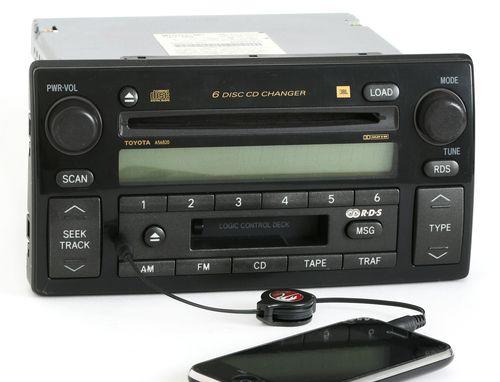 Toyota Camry 2002-2004 Radio AM FM 6 Disc CD CS w Aux Input 86120-AA060 A56820