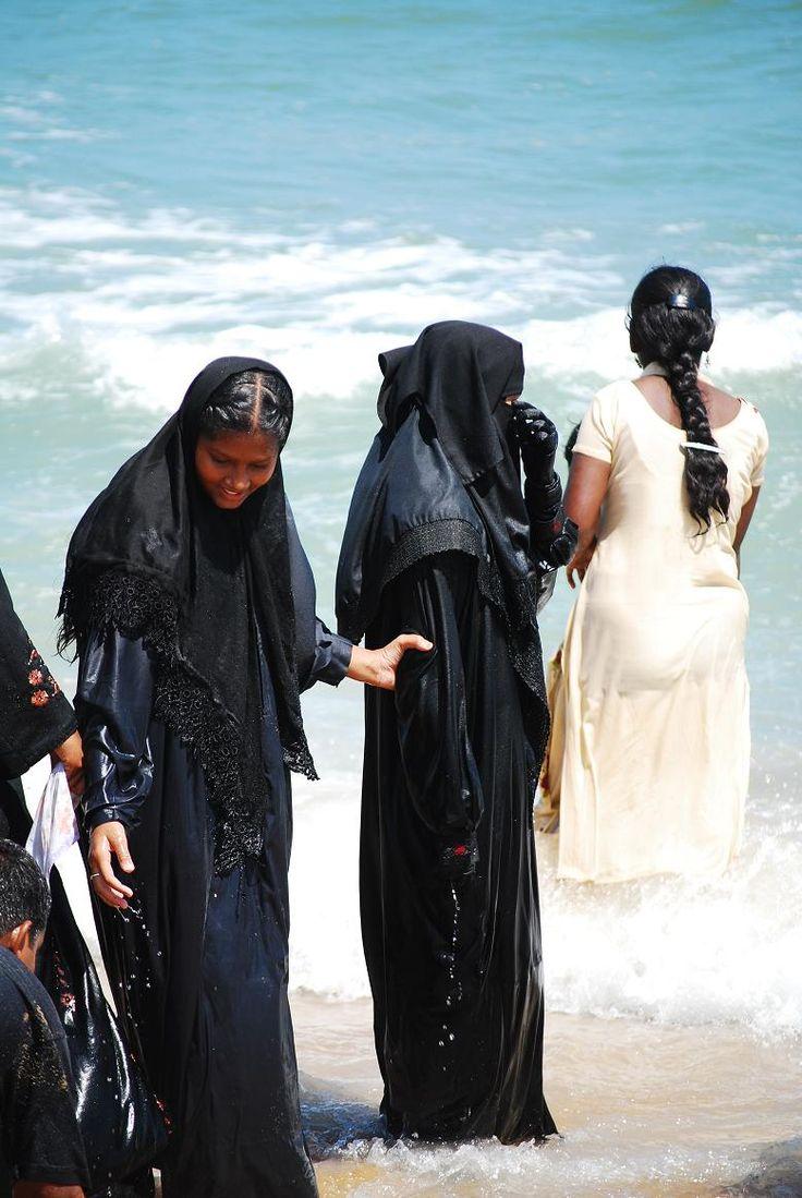 INDE DU SUD 2008, Tamil Nadu Le maillot de bain musulman pas toujours pratique !