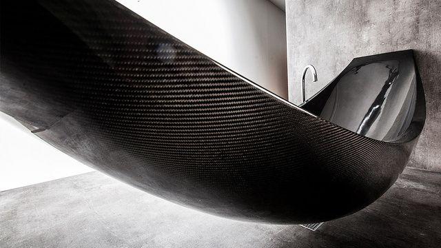 26 best bathroom ideas images on pinterest bathroom for Carbon fiber hammock bathtub