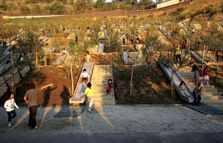 Bicentennal Children's Park by Elemental
