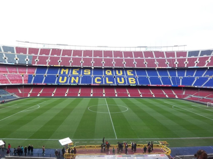 barcelona soccer field