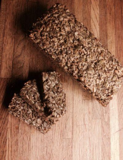 Naturlig glutenfritt brød