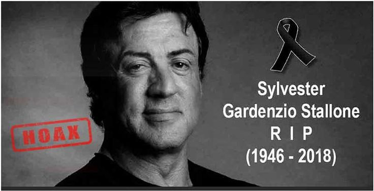 Sylvester Stallone Death Hoax Again Circulating