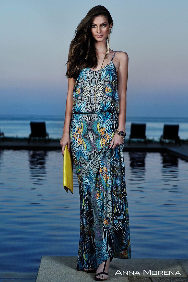 Anna Morena | Spring Summer Collection 2015 | Coleção Primavera Verão 2015 | Vestido estampado; Tendência; Moda feminina; Trend.