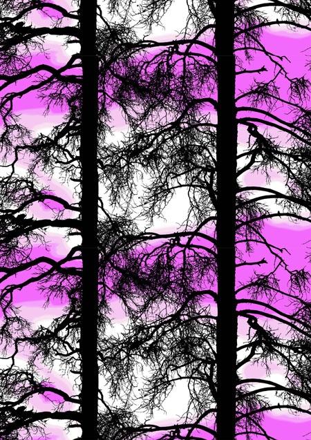 Kelohonka, pink by Tanja Orsjoki 2008/2011/Vallila