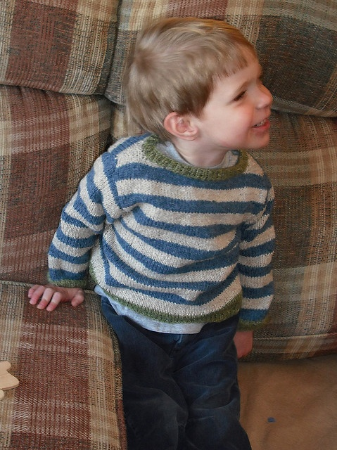 free pattern - smuggler. Stripes are just great on a boy!