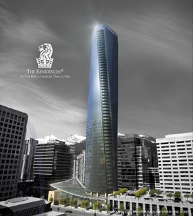 I have also work  on the design of this Vancouver 60 stories tower project  that was cancelled in 2009 :(