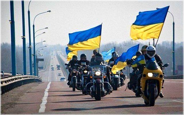 Kherson, Bikers for United Ukraine! Херсон. Байкеры за Единство Украины!