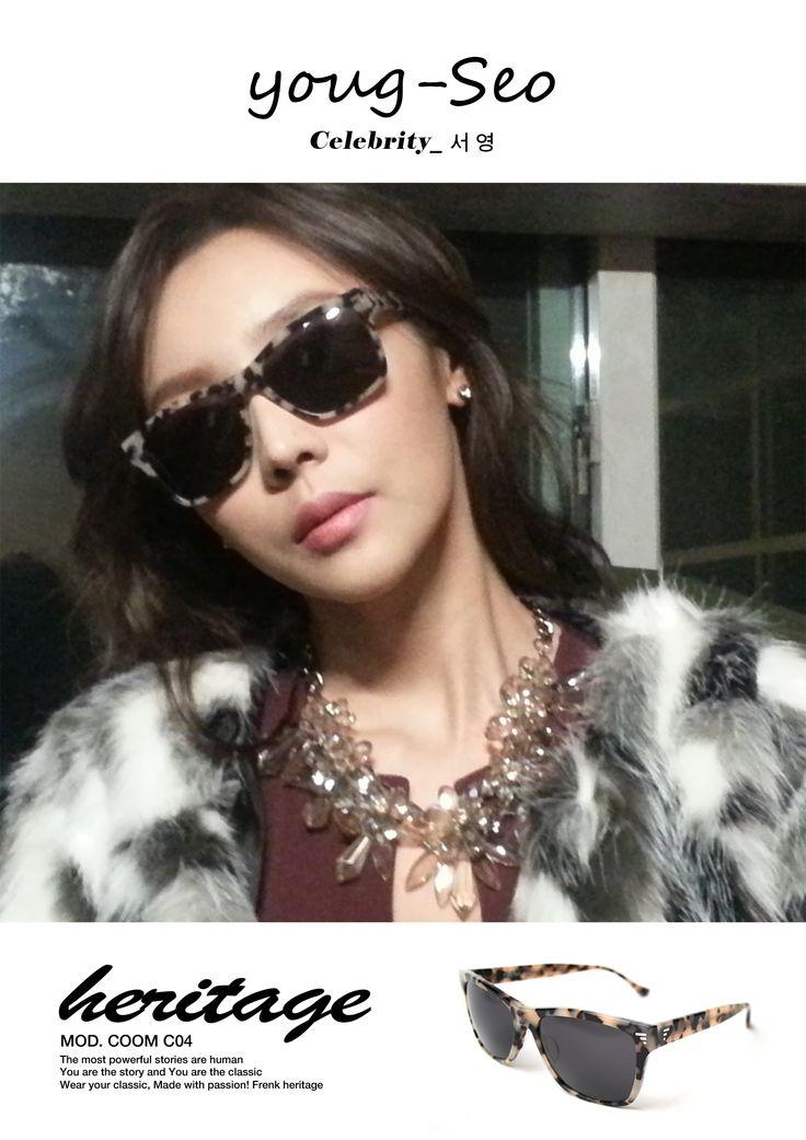 배우 서영씨의 프랭크헤리티지 인증샷!!