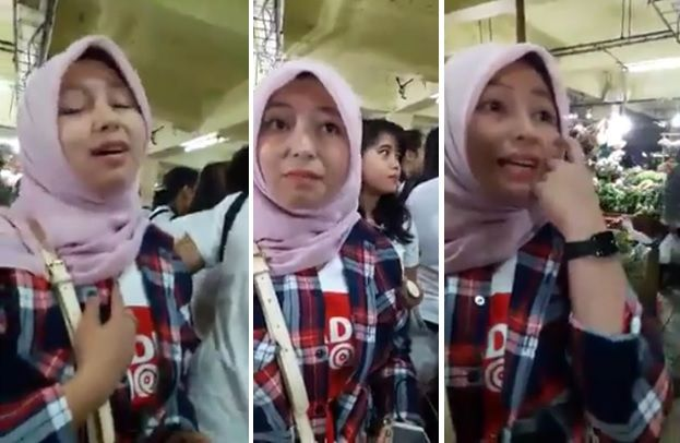 Gadis Ahok Berjilbab Dites Rukun Islam dan Rukun Iman Ini Jawabannya  Jahizu.com - Sebuah video tersebar di media sosial dan menjadi viral. Video itu berisi wawancara dengan seorang wanita pendukung Ahok (Gadis Ahok) yang belakangan ini populer karena terlihat mengenakan jilbab saat blusukan.Latar belakang wawancara tersebut banyak isu yang menyebutkan bahwa non muslim memakai jilbab demi kepentingan tertentu.Jadi cuman mau mastiin aja (bahwa benar-benar Islam red) kata Fahmi yang…