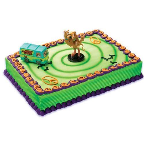 Scooby Doo & Mystery Machine Cake Decoration Kit   Scooby Doo Party Supplies - Discount Party Supplies