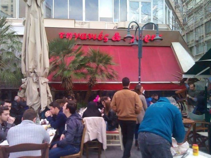 Οι καλύτερες στιγμές μας από την τσικνοπέμπτη. https://goo.gl/AXAkna  #Τηγανιές& #Σχάρες #Ψητοπωλείο #delivery #Θεσσαλονίκη#κοκορέτσι