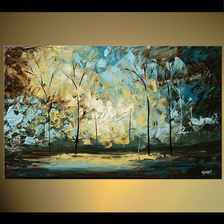 252 best palette knife painting images on pinterest for Palette knife painting acrylic