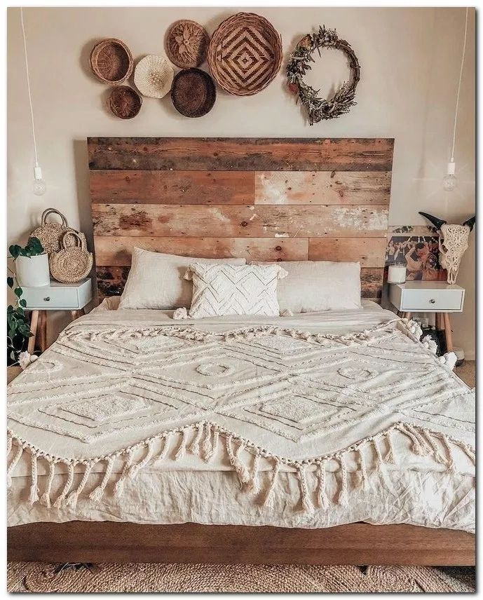Minimalist Bedroomdesign Ideas: 34 Boho Master Bedroom Ideas #masterbedroomideas