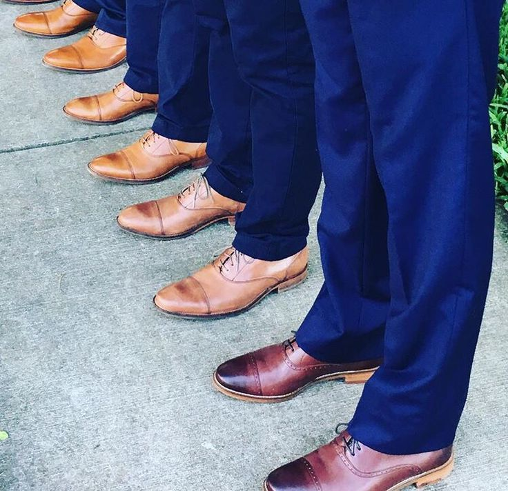 Groom and groomsmen's shoes from Cole Haan.