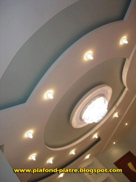 58 best images about faux plafond on pinterest models for Decoration platre salon moderne