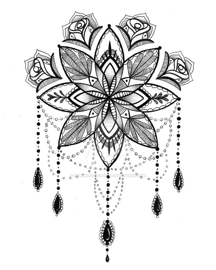 Resultado de imagem para tattoo mandala design