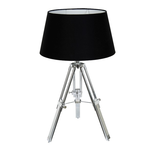 Chelsea Surveyors Table Lamp in Black/Chrome