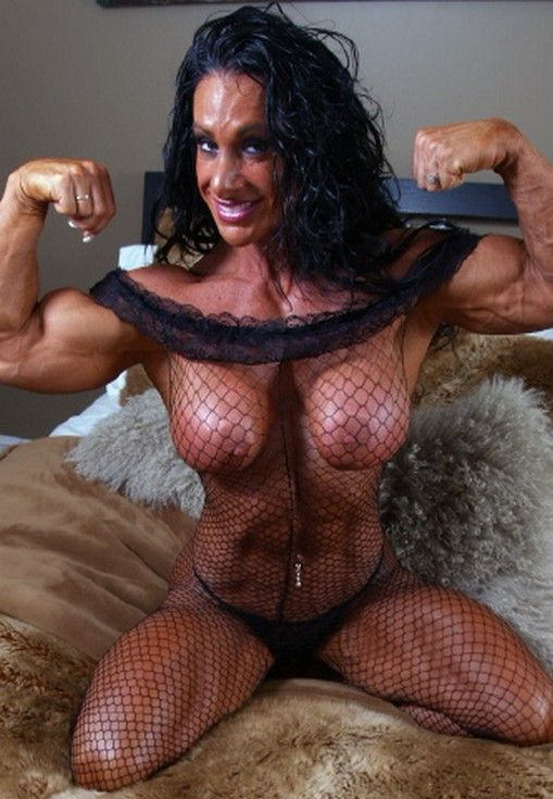 naked bodybuilder Debbie bramwell