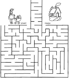 Take Amy Home Maze
