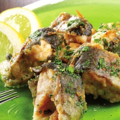 Fried Marinated Trout