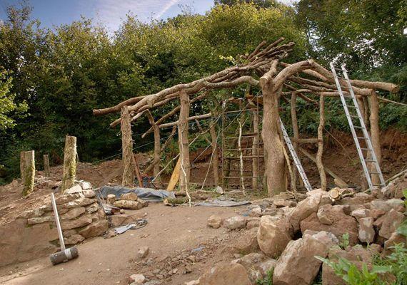 Simon Dale híres hobbitháza...