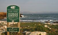 Take a sunset stroll along Hermanus' famous cliff path. Read more: http://www.news24.com/Travel/South-Africa/The-Whale-Coast-12-Gems-20130214
