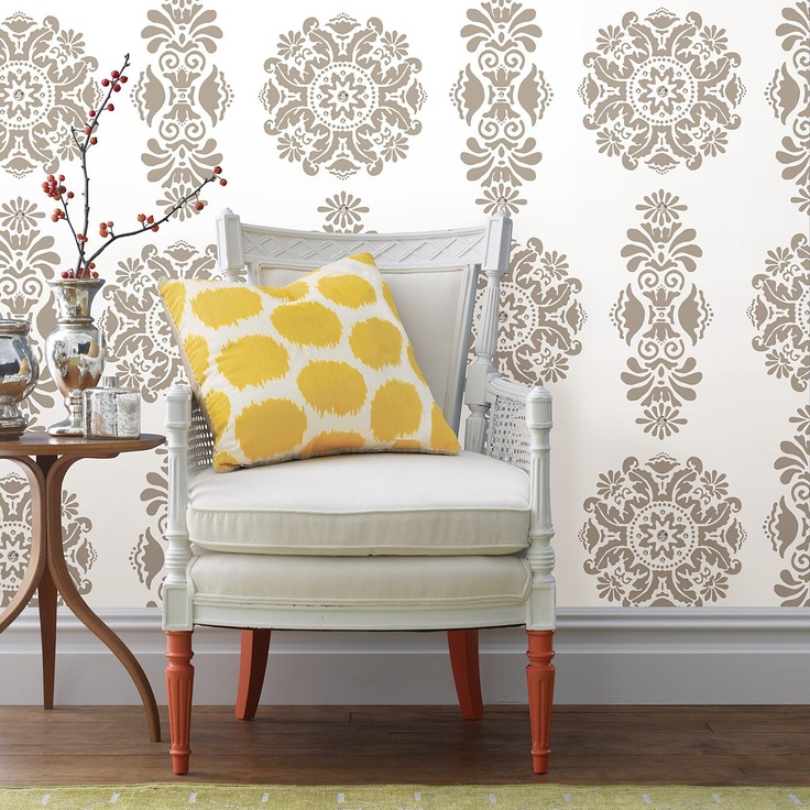 Wall Pops Kolkata Dot Wall Decals from @Layla Grayce #laylagrayce #gabbydecor fun wall prints for the living room!