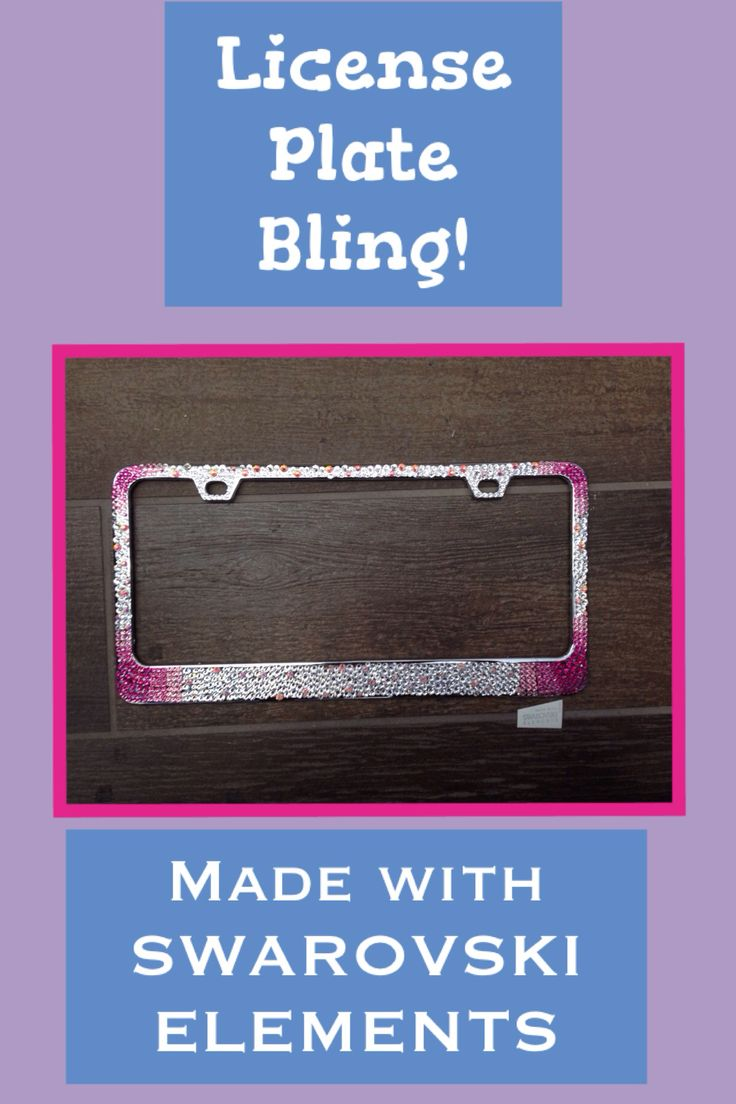1000 Images About License Plate Frame On Pinterest
