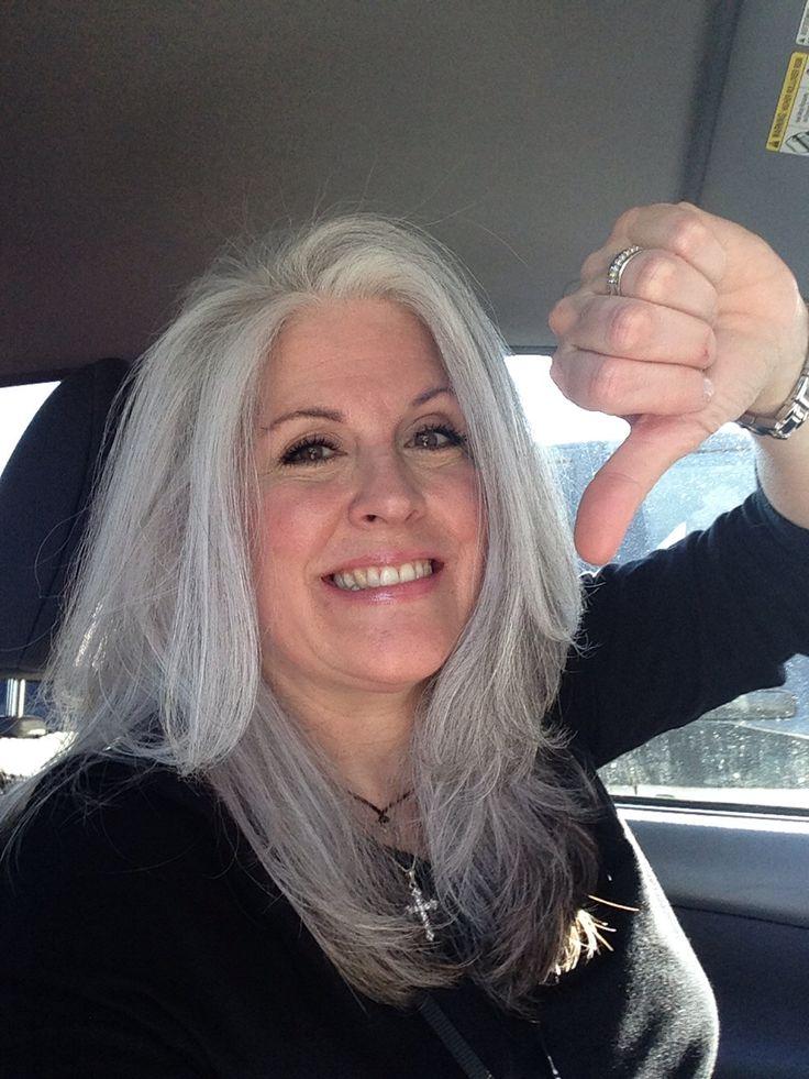 Salt And Pepper Gray Hair Grey Hair Silver Hair White -6827