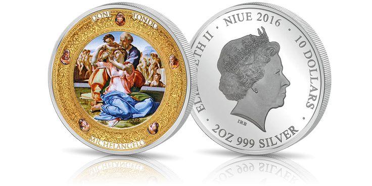 srebrna-moneta-michal-aniol-doni-tondo
