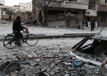 Rusia ordena una pausa humanitaria de cinco horas diarias en Guta Oriental