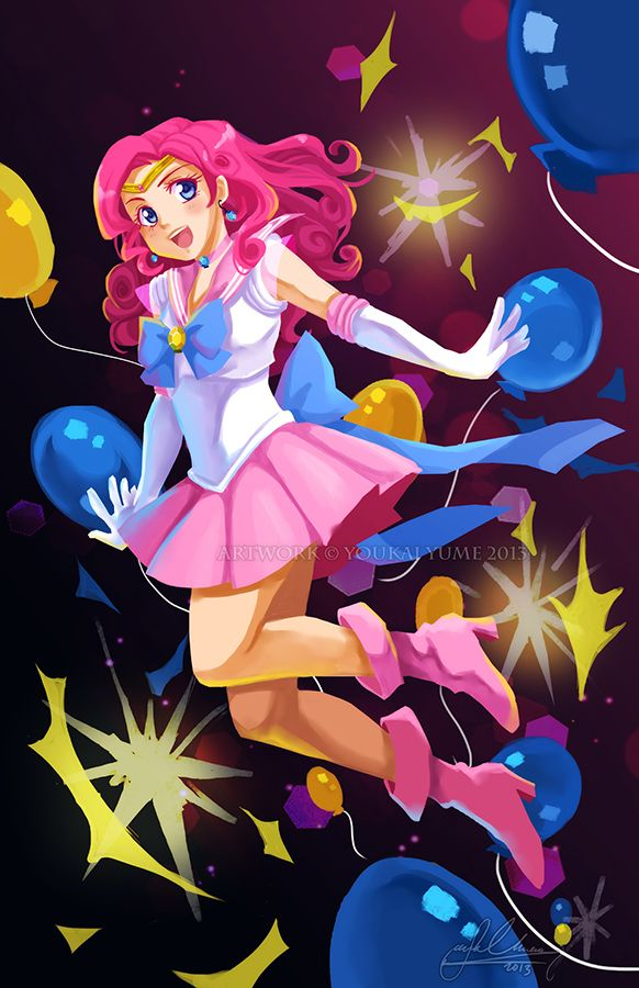 Sailor Pinkie Pie | by YoukaiYume @ DeviantART.com // #mlpfim; my little pony; friendship is magic